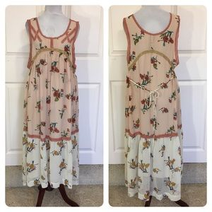 New! Free People New Romantics boho chic dress